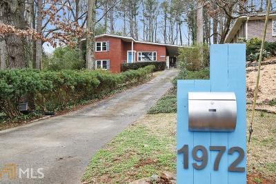 Atlanta Single Family Home For Sale: 1972 McJenkin Dr