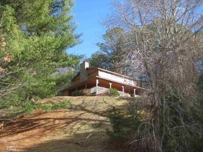 Rabun County Single Family Home Under Contract: 769 Bald Mountain Rd