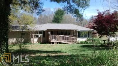 Dawson County Single Family Home For Sale: 496 Juno Rd