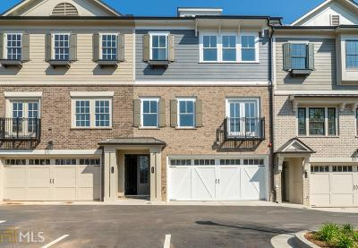 Roswell Condo/Townhouse New: 145 Norcross St #8