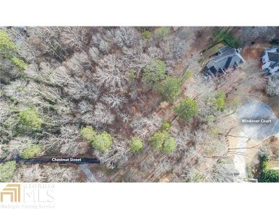 Roswell Residential Lots & Land New: Chestnut St