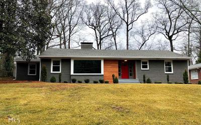 Atlanta Single Family Home New: 1460 Lavista Rd