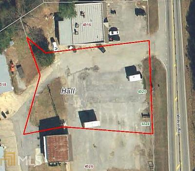 Oakwood  Commercial For Sale: 4520 McEver Rd