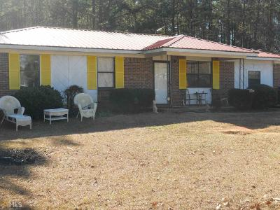 Butts County Single Family Home New: 139 Watkins Rd