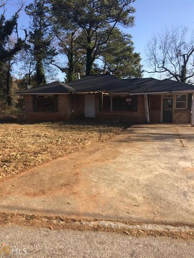 Atlanta Single Family Home New: 1650 Woodland Ave SE
