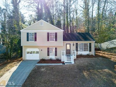 Fulton County Single Family Home Under Contract: 310 Knoll Ridge Ct