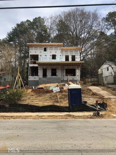 Atlanta Single Family Home New: 1045 Shepherds Ln