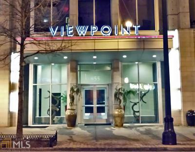 Viewpoint Condo/Townhouse For Sale: 855 Peachtree St #40