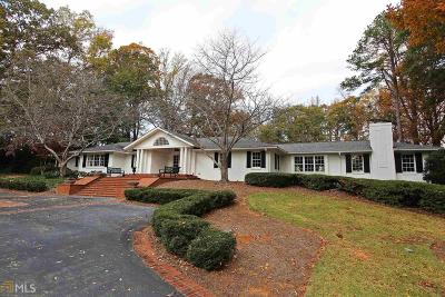 Buckhead Single Family Home For Sale: 1035 W Wesley Rd