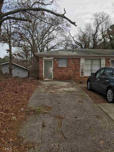 Atlanta Single Family Home New: 2090 Fairburn Rd