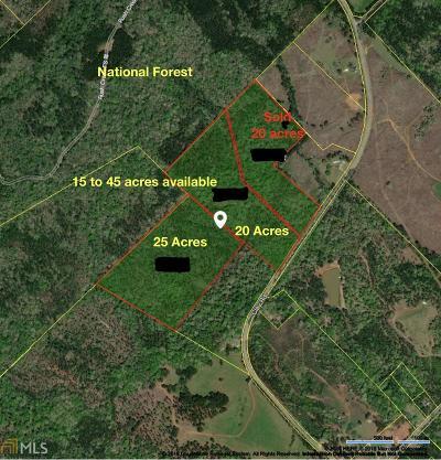 Monticello Farm For Sale: Clay Rd