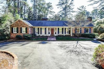 Buckhead Single Family Home For Sale: 3385 Habersham Rd