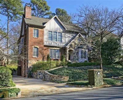 Atlanta Single Family Home New: 1615 N Pelham Road