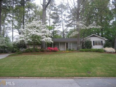 Decatur Single Family Home For Sale: 2384 Burnt Creek Rd