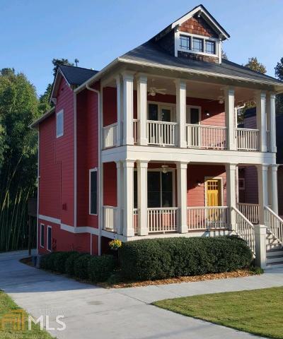 Atlanta Single Family Home New: 948 Paoli Ave