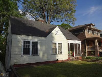 Decatur Single Family Home Under Contract: 172 Mead Rd
