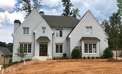 Atlanta Single Family Home New: 529 Cobblestone Dr