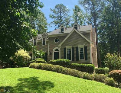 Peachtree City Single Family Home Contingent With Kickout: 210 Gleneagles Pt #30