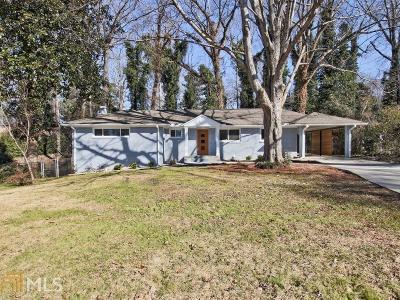 Atlanta Single Family Home New: 1302 Poplarcrest Cir
