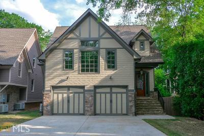 Dekalb County Single Family Home New: 1041 Pine Grove Ave