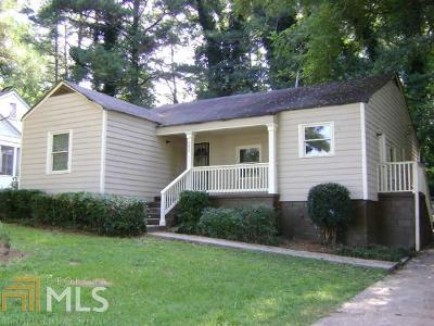 Fulton County Single Family Home New: 770 Waters Dr