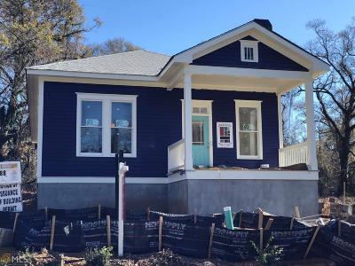 Atlanta Single Family Home New: 388 Atwood St