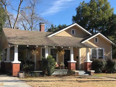 Statesboro Single Family Home For Sale: 114 College Blvd #Blk2Lt15