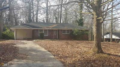 Cobb County Single Family Home New: 1183 SW Woodleigh Rd