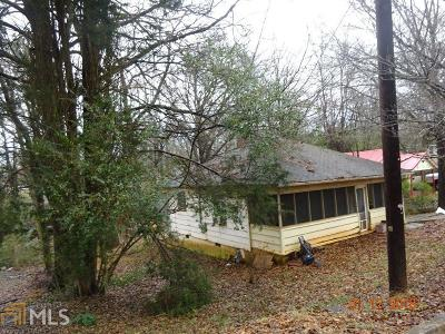 Carrollton GA Single Family Home For Sale: $50,000