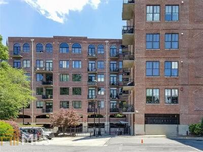 Buckhead Village Lofts Condo/Townhouse For Sale: 3235 Roswell #821