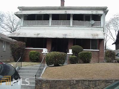 Atlanta Multi Family Home Back On Market: 352 Angier Ave