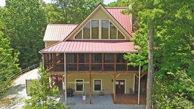 Rabun County Single Family Home For Sale: 152 Bywater Trl