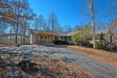 Clarkesville Single Family Home For Sale: 160 Lovelace Rd