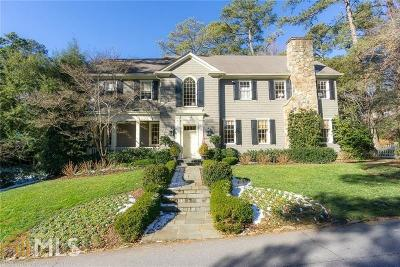 Buckhead Single Family Home For Sale: 3350 West Andrews