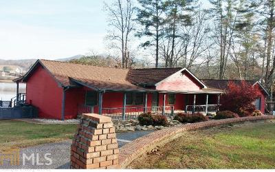 Hiawassee Single Family Home For Sale: 1814 Sunnyside Rd