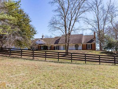 Newnan Single Family Home Under Contract: 763 Beavers Rd