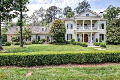 Buckhead Single Family Home For Sale: 3100 N Wesley Ct