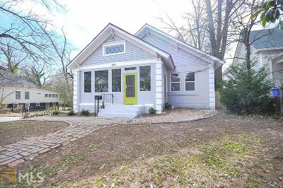 Fulton County Single Family Home For Sale: 802 Dill Ave