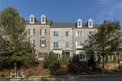 Alpharetta Condo/Townhouse Under Contract: 1942 Forte Ln #09