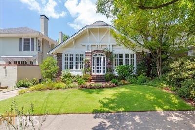 Ansley Park Single Family Home For Sale: 16 Walker Ter