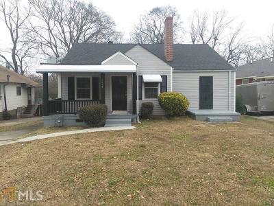 Hapeville Single Family Home For Sale: 3378 Colville Ave