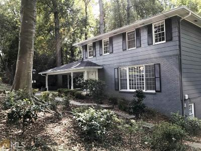 Chamblee Single Family Home For Sale: 3794 Harts Mill Ct