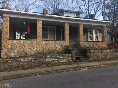 Elberton GA Single Family Home For Sale: $78,000