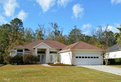 St. Marys Single Family Home For Sale: 284 Osprey Cir