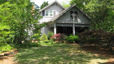 Barnesville Single Family Home For Sale: 524 Forsyth St