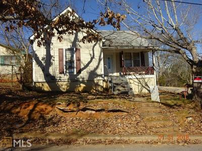 Carrollton GA Single Family Home For Sale: $72,500