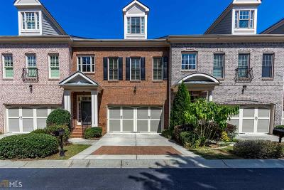 Johns Creek Condo/Townhouse For Sale: 6048 Coldwater Point