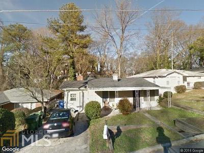 Fulton County Single Family Home For Sale: 1467 Eason St