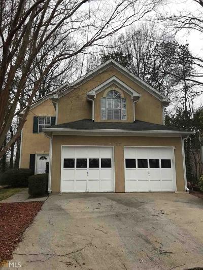 Alpharetta Single Family Home Under Contract: 5703 Bridge Pointe Dr