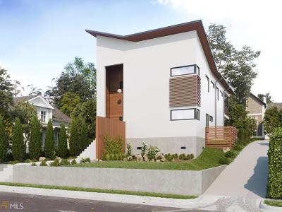 Reynoldstown Single Family Home For Sale: 1136 Boulevard Dr